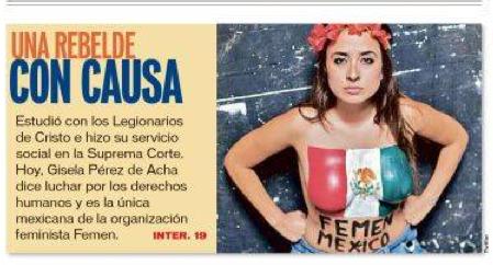 Reforma Femen Entrevista