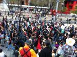Posmesalto marcha anarquistas encapuchados