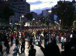 Posmesalto marcha avenida Juárez