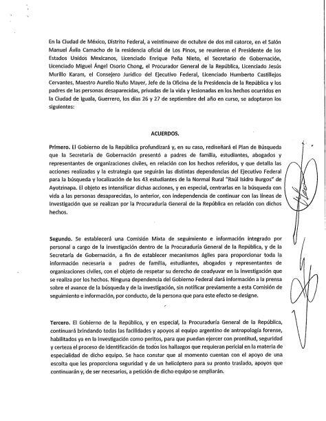 Peña Padres Ayotzinapa 1