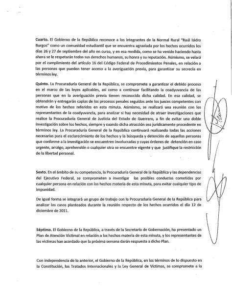 Peña Padres Ayotzinapa 2